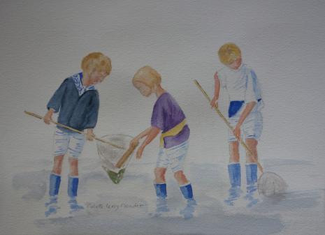 Enfants à la pêche 3