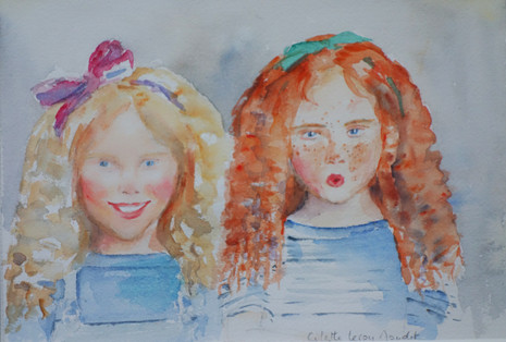 Deux poupées