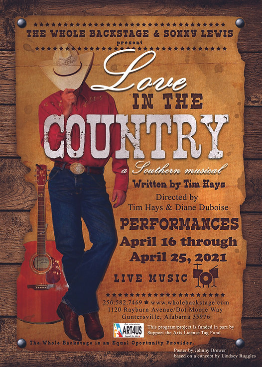 Love in the Country Performance Poster U