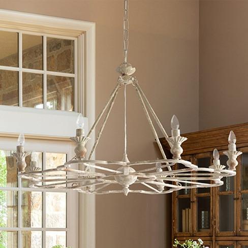 french farmhouse follie chandelier