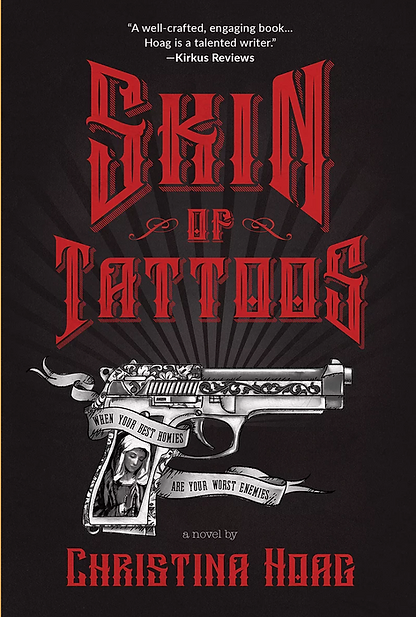 Book Cover - Skin of Tattoos by Christina Hoag