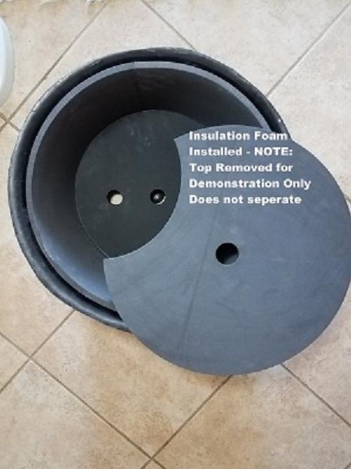 Optional Insulation Kit (ordered separately)