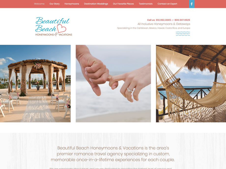 Beautiful Beach Honeymoons