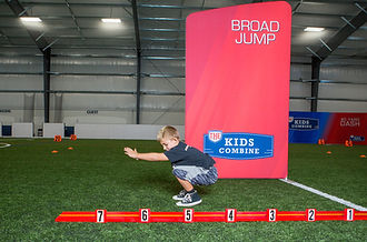 The Kids Combine - Broad Jump