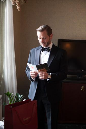 Drake-Hotel-Chicago-Weddings-Groom-Gift-