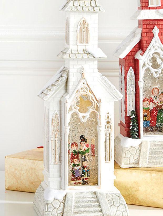 christmas church decor