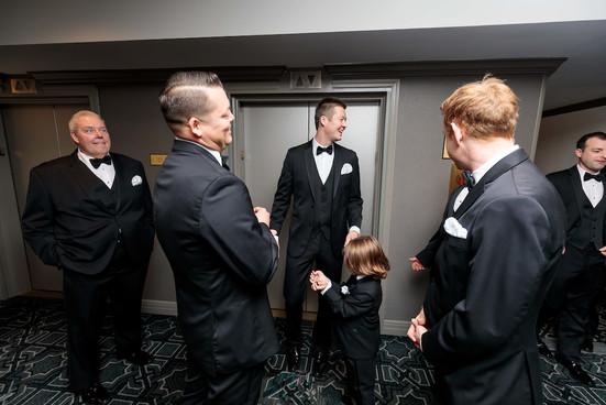 Intercon-Chicago-Wedding- Groom-Groomsme