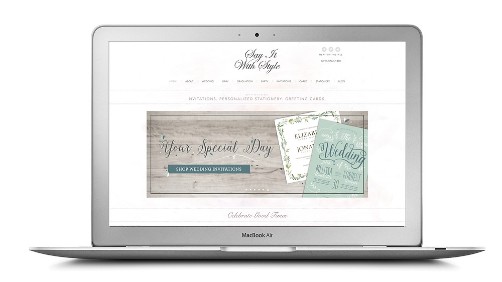 Say It With Style Invitations, Personalized Stationery, & Greeting Cards