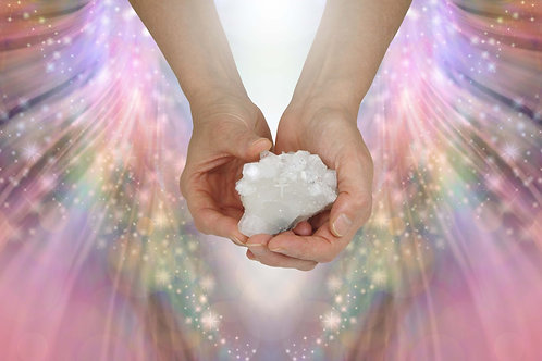Crystal Reiki Distance Session - 1 hour