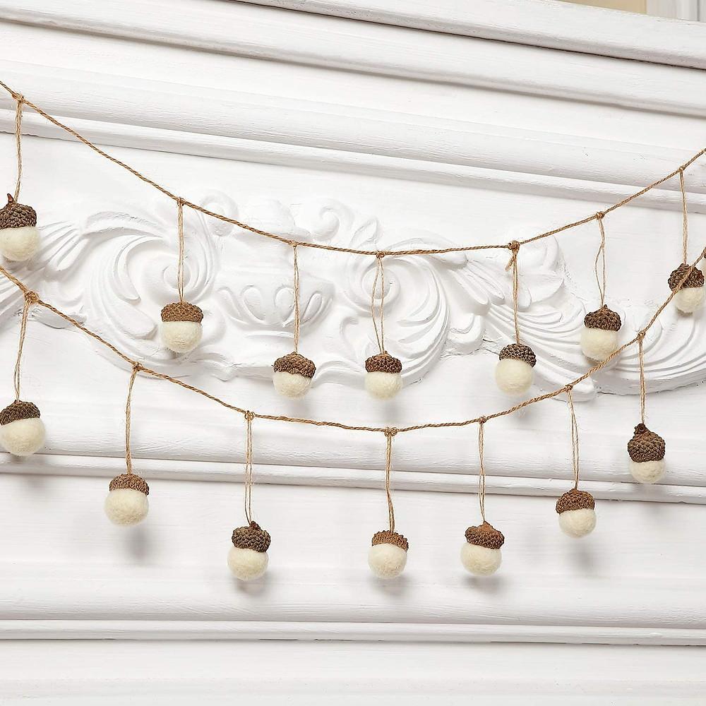 farmhouse christmas garland