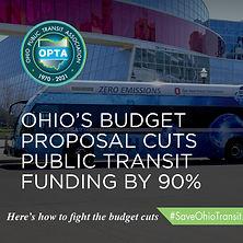 Ohio's Budget Proposal Cuts Public Transit