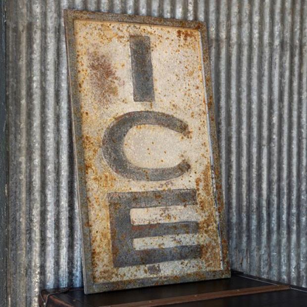 rusty vintage wall decor
