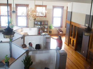 Open, airy, and flooded with natural light. Plenty of space to let ideas soar...