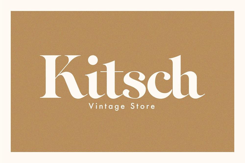 vintage font style