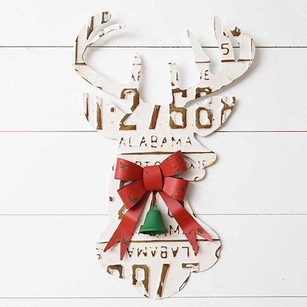 Deer Silhouette Holiday Wall Decor