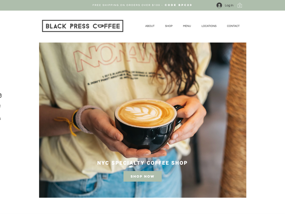Black Press Coffee