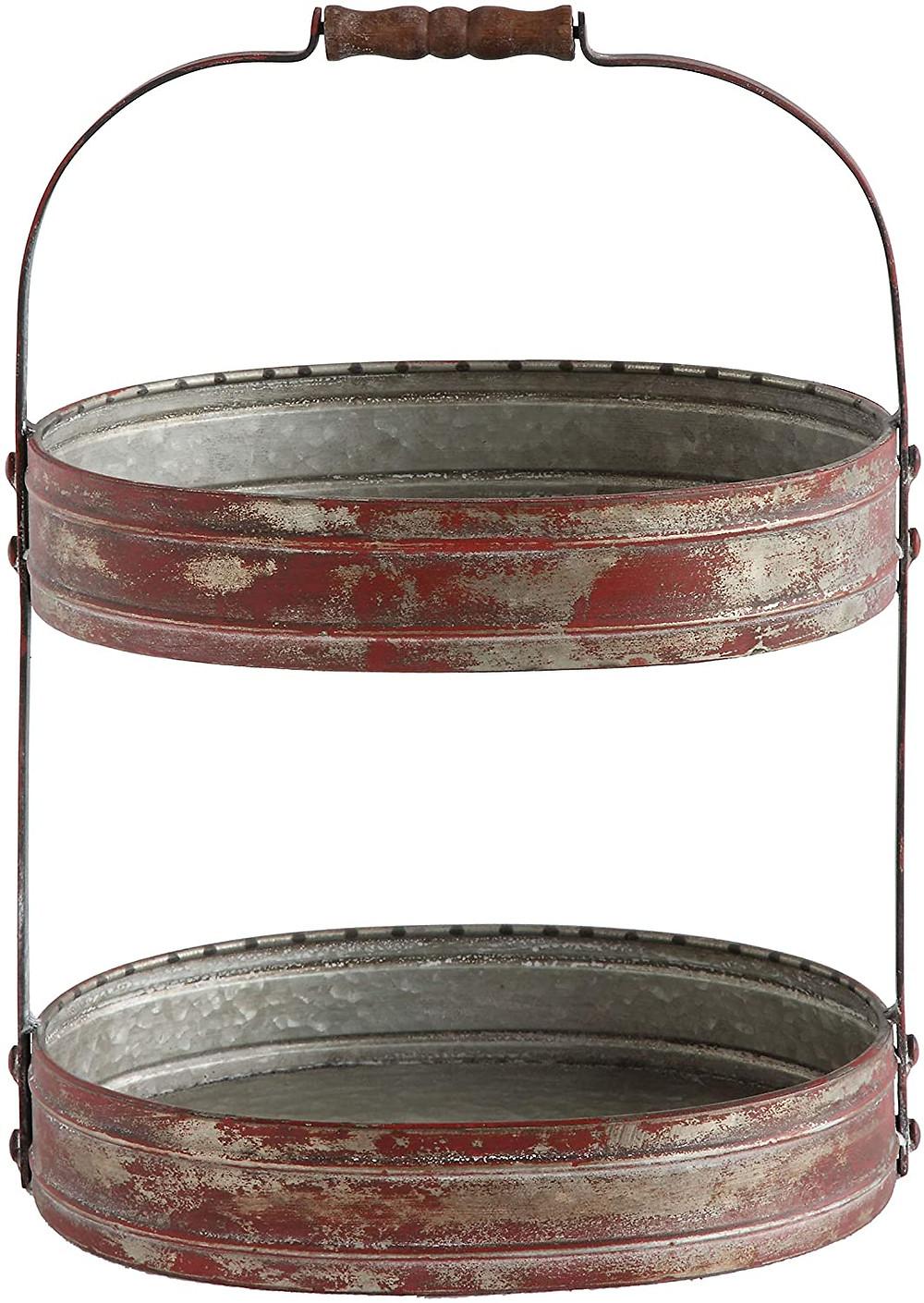 metal tray for kitchen storage