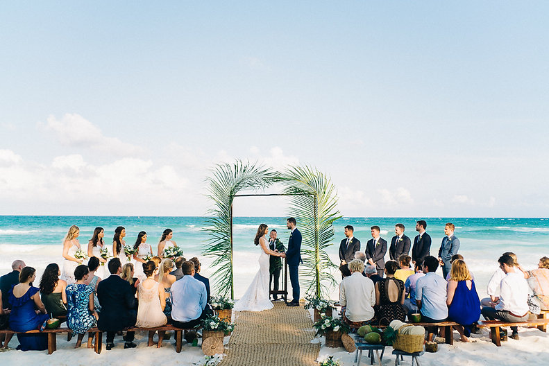 Destination Weddings - Tulum Beach, Mexico