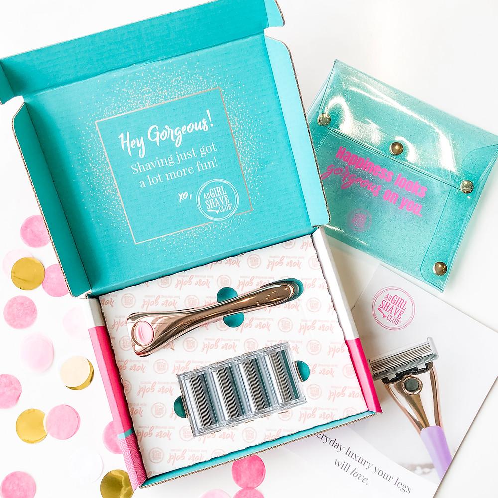 All Girl Shave Club Starter Kit