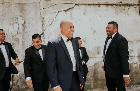 Summer-Wedding-Chicago- Groom-Son-Ceremo