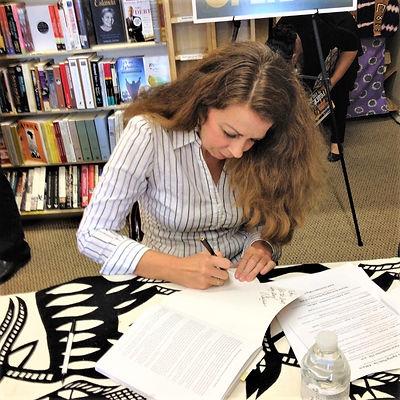 Christina Hoag Booksigning