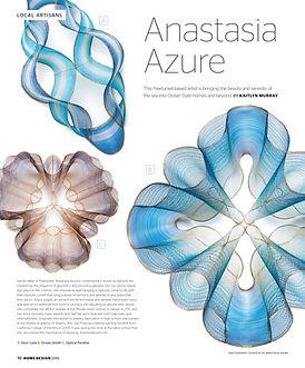 Rhode Island Monthly - Anastasia Azure Art