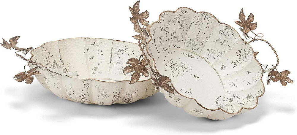harvest decorative shabby chic trays
