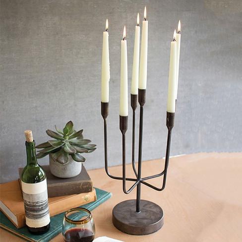 antiqued elegance candelabra