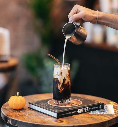 Best NYC Coffee Shop - Black Press Coffee