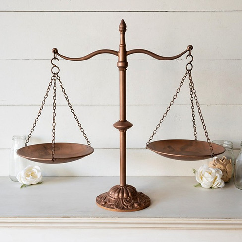 Decorative Farmhouse Balance Scale