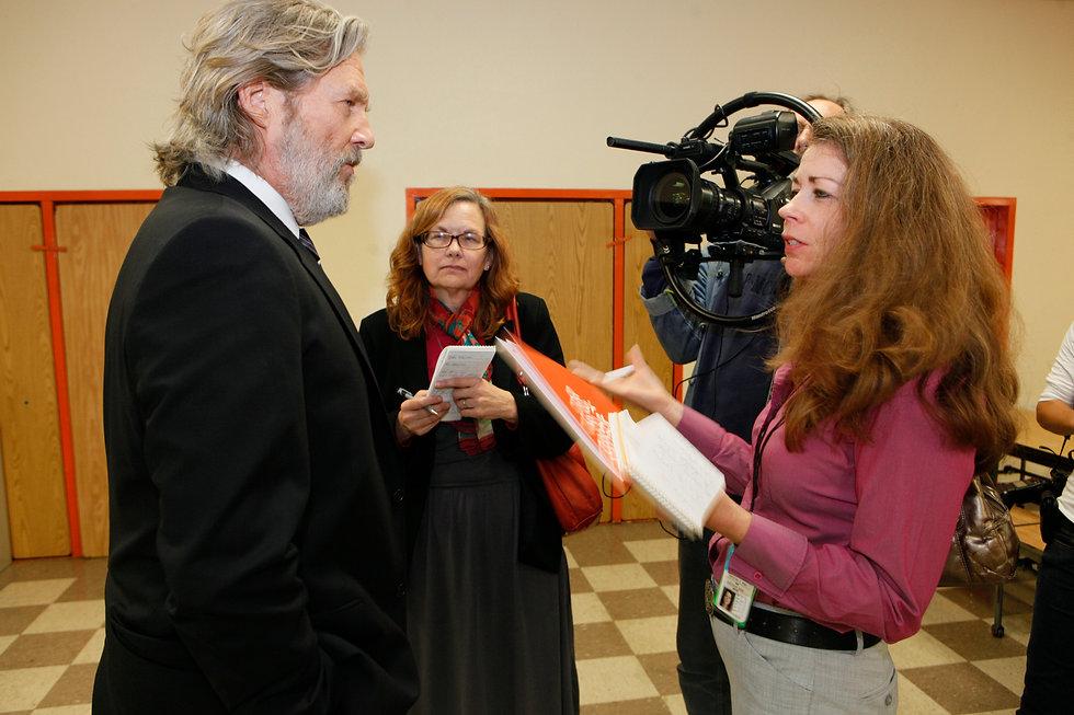 Christina Hoag interviews actor Jeff Bridges