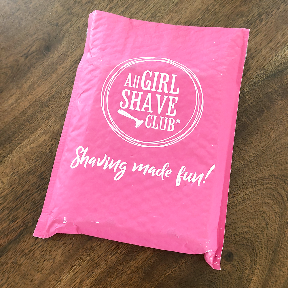 All Girl Shave Club Review and Unboxing