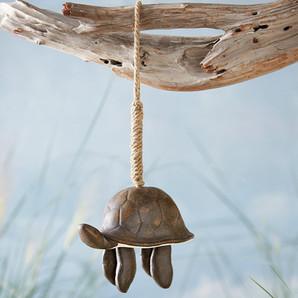 Mud Pie Stoneware Turtle Wind Chime