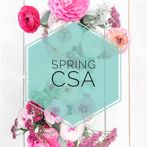 Spring CSA Flower Subscription