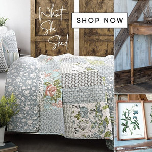 Shop What She Shed