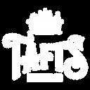 Tafts logo in white