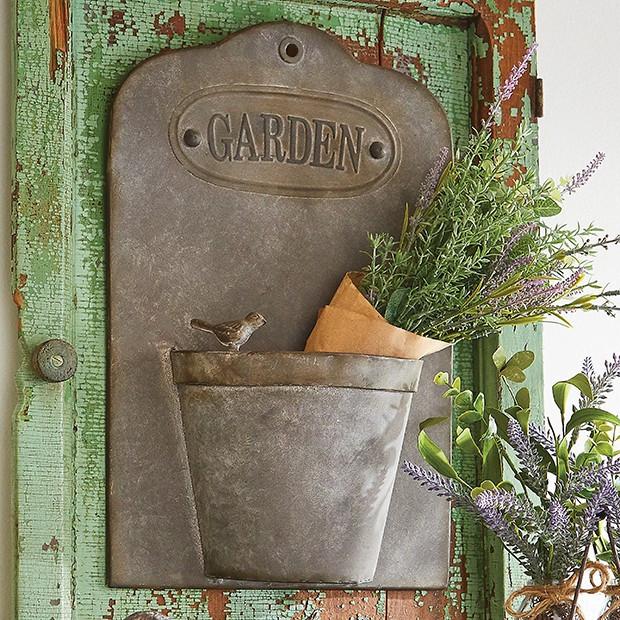 rustic iron garden wall decor