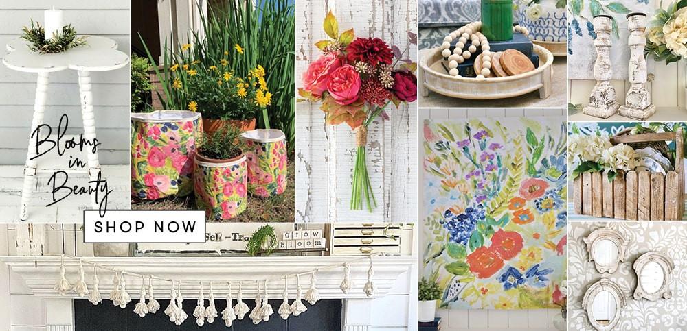 farmhouse bloom decor