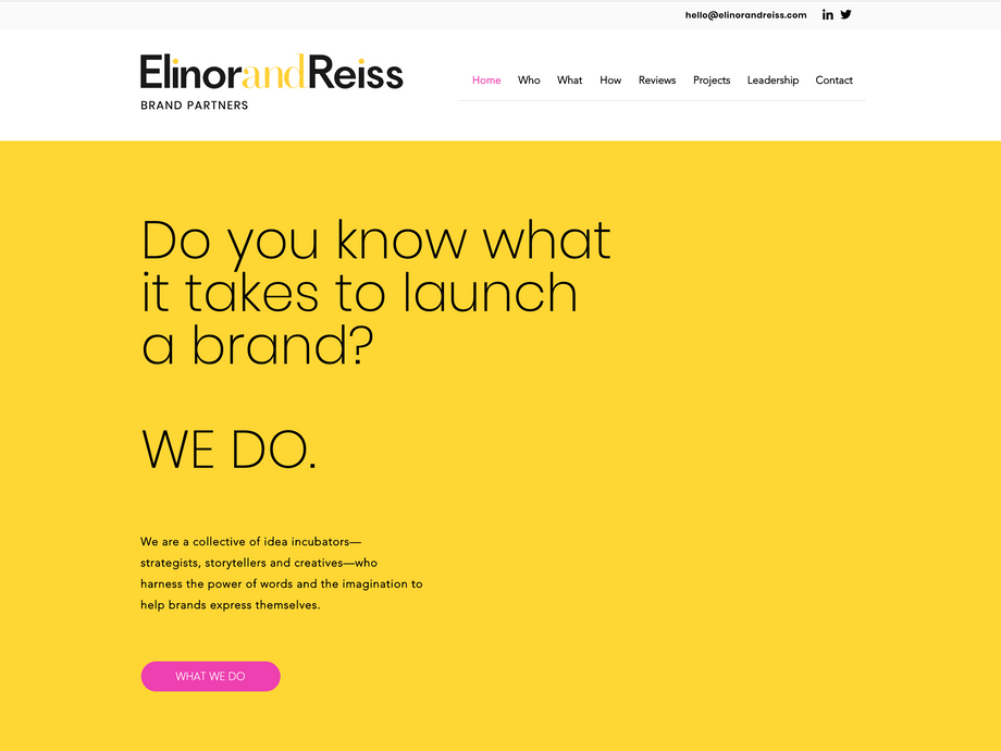 Elinor and Reiss Brand Partners