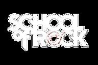 School of Rock logo in white