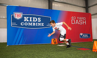The Kids Combine - 40 Yard Dash