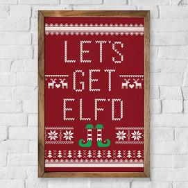 The Elf Did It Farmhouse Decor Collection
