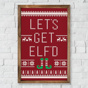The Elf Did It Farmhouse Decor Collection