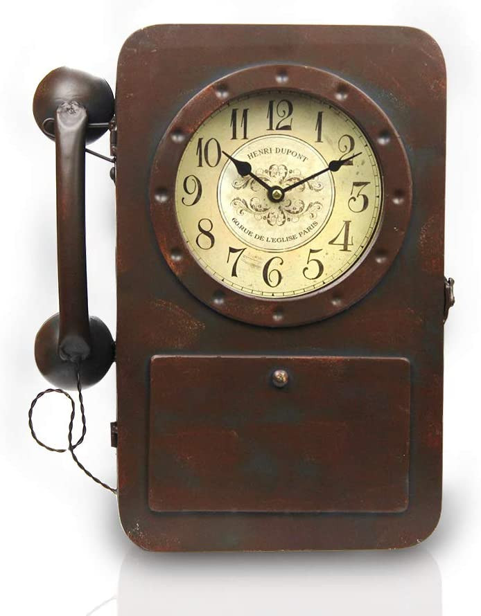 vintage_weathered_wall_clock