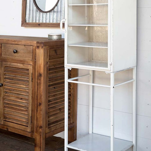 metal vintage nurses cabinet
