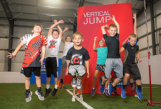 The Kids Combine - Vertica Jump