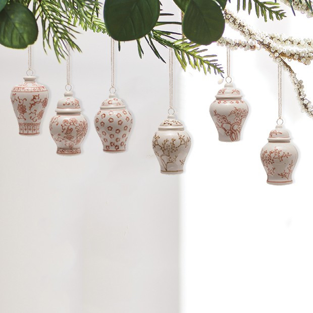 Ginger Jar Ornament Collection