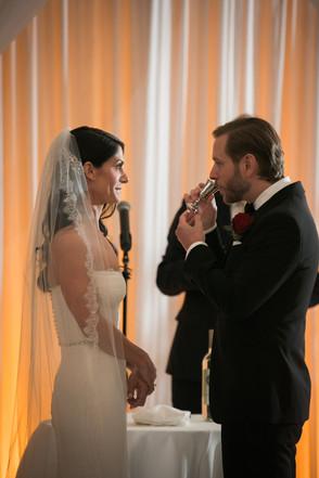 Drake-Hotel-Chicago-Weddings-Couple-Cere
