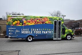 Lake County Mobile Food Pantry Bus. Ment