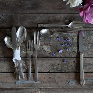 Antique And Vintage Silverware Pieces From 1800-1940